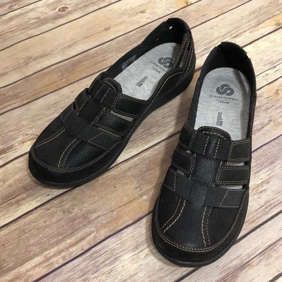 f7f95cbcbad Clarks Shoes - NWOB Clarks Cloudsteppers Sillian Stork 9 Black